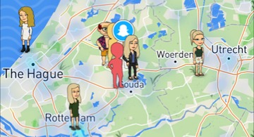 Snap Map: let op je privacy